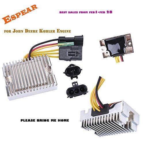 Improved Voltage Regulator Rectifier for Polaris ATV Ranger Sportsman Hawkeye 400 500 Repl 4011569 4011925 4012192
