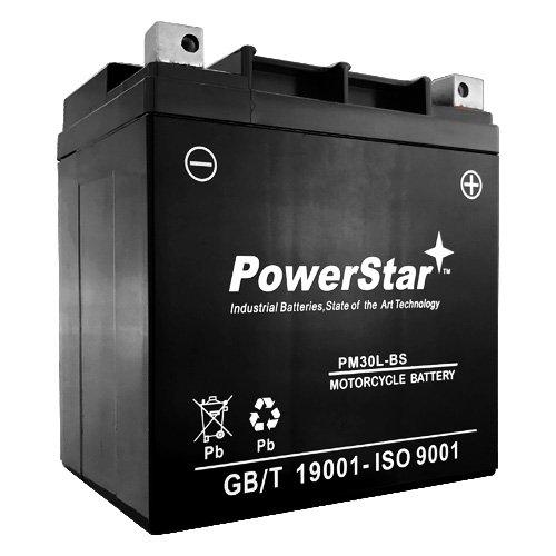 PowerStar Battery for Polaris ATV 700 cc 2005-2002 Sportsman Millitary