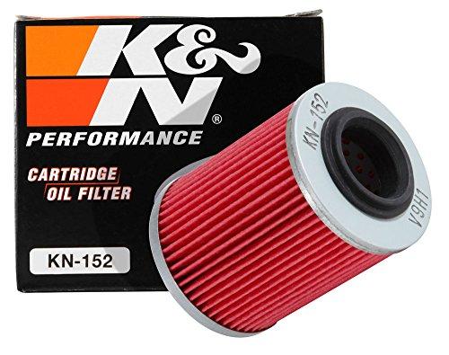 K&N KN-152 Powersports High Performance Oil Filter