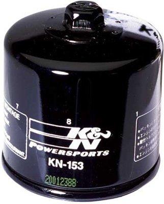 K&N Oil Filter - Cagiva Ducati See Specifications - Black - KN-153