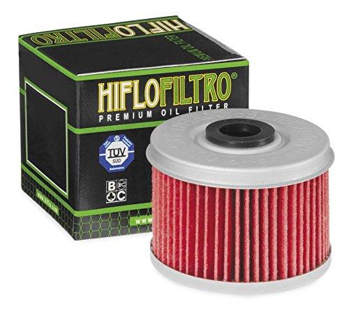 New Hiflofiltro ATVUTV Oil Filters Pack of 10 - 2004-2006 Kawasaki Prairie 700 4x4