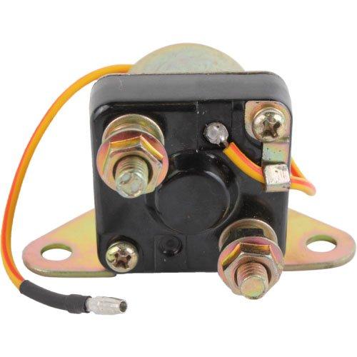 DB Electrical SMU6064 Starter Relay Solenoid for Suzuki Motorcycles GN125 GN250 GS1000 GS250T GS300L GS400 GS425 GS450E GS550 GS650G GS750 GS850G 31800-37020 31800-49320 1974-88