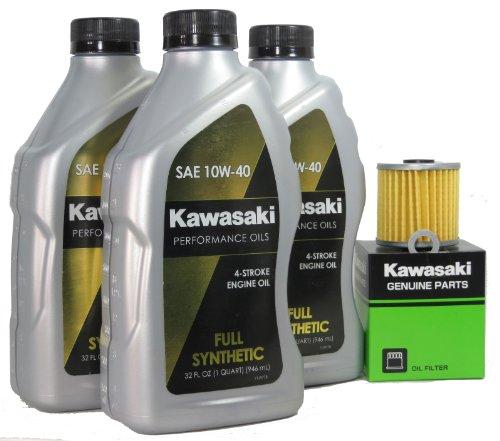 1998 Kawsaki BAYOU 220 Full Synthetic Oil Change Kit