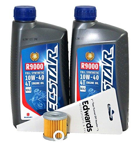 2000-2003 Suzuki DR-Z400 Full Synthetic Oil Change Kit