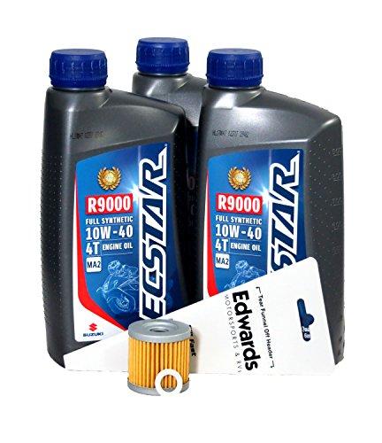 2004-2009 Suzuki LT-Z400 Full Synthetic Oil Change Kit