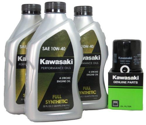 2009 Kawsaki ER-6N Full Synthetic Oil Change Kit