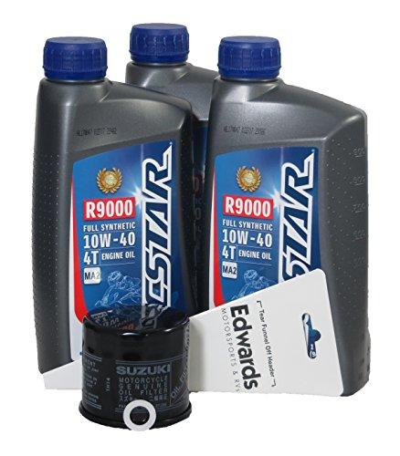 2011 Suzuki AN 650 BURGMAN Full Synthetic Oil Change Kit
