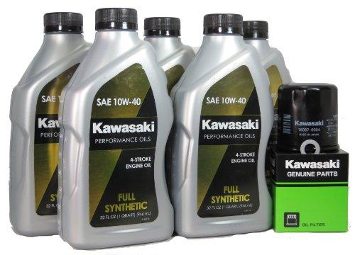 2013 Kawsaki NINJA ZX-14R Full Synthetic Oil Change Kit