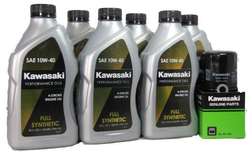 2013 Kawsaki VULCAN 1700 VAQUERO Full Synthetic Oil Change Kit