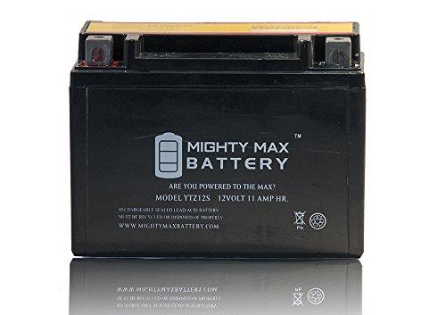YTZ12S 12V 11AH Battery for Honda 750 VT750C Shadow Spirit Aero 07-09 - Mighty Max Battery brand product