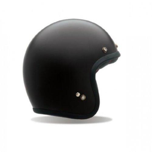 Bell Custom 500 Vintage Matte Black Helmet Size Large