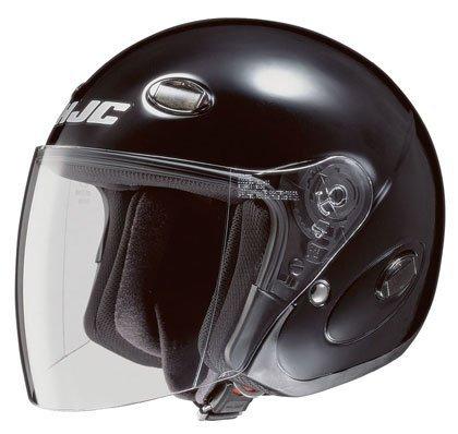 HJC CL-33 Black Open Face Helmet - Medium