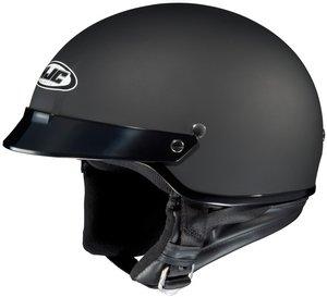 Hjc CS-2N Flat Black SIZELRG Open Face Motorcycle Helmet