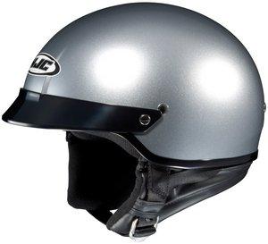 Hjc CS-2N Lt Silver SIZEXLG Open Face Motorcycle Helmet