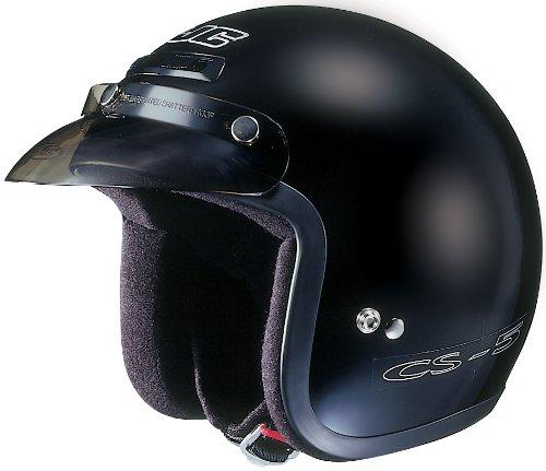 HJC CS-5 CS5 CRUISERN BLACK SIZEXXL Motorcycle Open-Face-Helmet