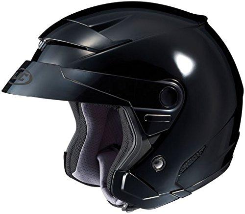 HJC FS-3 Black SizeMED Motorcycle Open-face-helmet