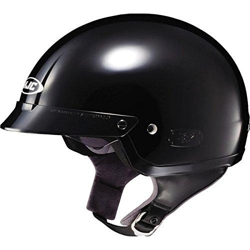 HJC IS-2 Schade Open Face Motorcycle Helmet MC-5 Black Large L 0823-1105-06