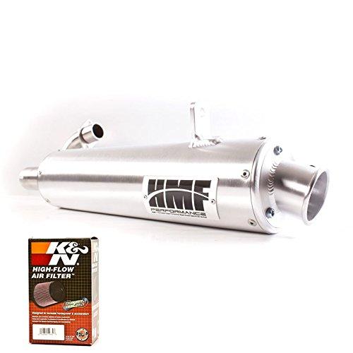 HMF Honda Rancher 420 SRA 2014 - 2017 Full Exhaust Muffler  K&N Filter