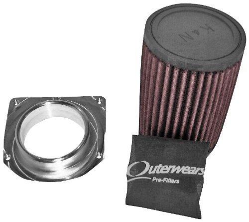 Modquad Airflow System With K&N Filter for Kawasaki KFX Suzuki LTZ 400