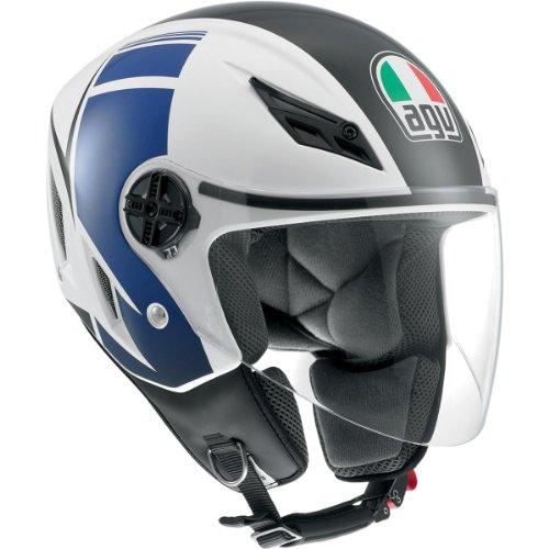 AGV Blade FX Open Face Helmet White Blue XLX-Large