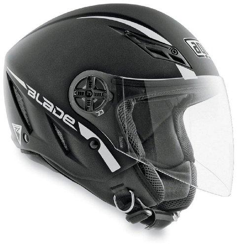 AGV Blade Solid Helmet  Size XS Primary Color Black Helmet Category Street Helmet Type Open-face Helmets Distinct Name Flat Black Gender MensUnisex 042154A0003004