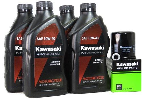 2010 Kawasaki NINJA ZX-6R Oil Change Kit