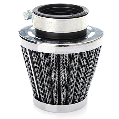 E Support™ 48mm Mini Blue Cone Cold Air Intake Filter Turbo Vent Clean Fresh Car Motorcycle