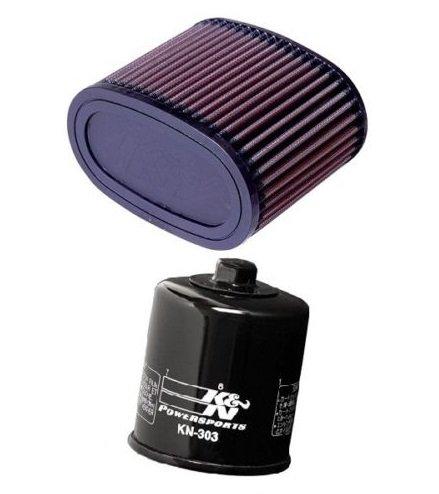 K&N Motorcycle Air Filter  Oil Filter 1998-2001 Honda VT1100T Shadow ACE Tourer  HA-1187  KN-303