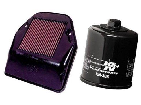 K&N Motorcycle Air Filter  Oil Filter Combo 1994-1999 Honda VF750C Magna HA-7594  KN-303