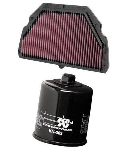 K&N Motorcycle Air Filter  Oil Filter Combo 1999 2000 Honda CBR600F4 HA-6099  KN-303