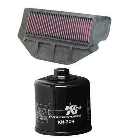 K&N Motorcycle Air Filter  Oil Filter Combo 2000 2001 Honda CBR929RR HA-9200  KN-204