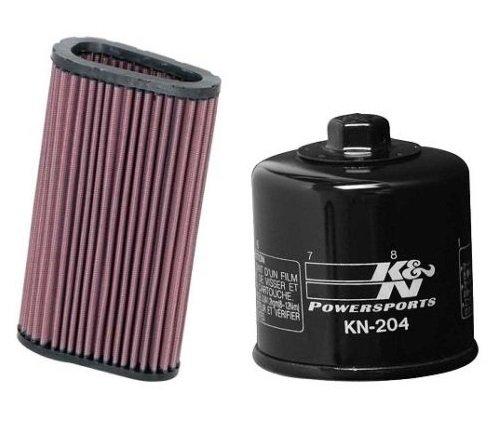 K&N Motorcycle Air Filter  Oil Filter Combo 2007-13 Honda CB600F Hornet HA-5907  KN-204