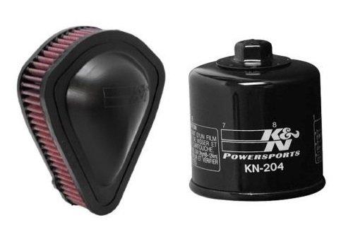 K&N Motorcycle Air Filter  Oil Filter Combo 2010-2014 Honda VT1300CR Stateline HA-1310  KN-204