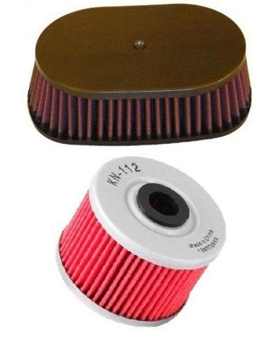 K&N Motorcycle Air Filter  Oil Filter Combo 2012-2014 Honda XR650L HA-6592  KN-112