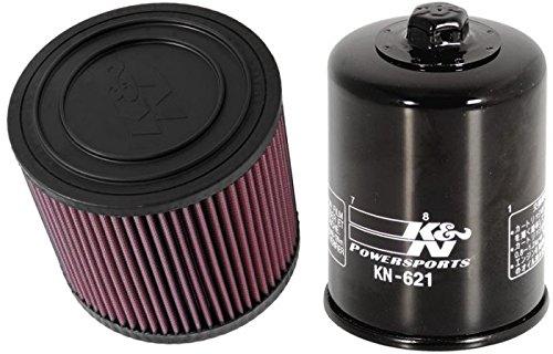 K&N Motorcycle Air Filter  Oil Filter Combo 2014 Arctic Cat Wildcat 4X AC-1012  KN-621