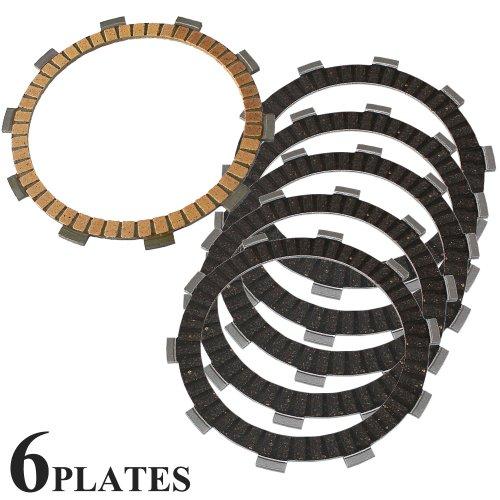 Caltric CLUTCH FRICTION PLATE Fits HONDA TRX350FE TRX350-FE RANCHER 350 4x4 ES 2000-2006 6-PLATES
