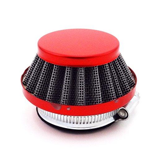 TC-Motor Mini Moto Racing Red 44mm Air Filter Cleaner For Carburetor Carb 47cc 49cc 2 Stroke Quad ATV Dirt Pocket Bike