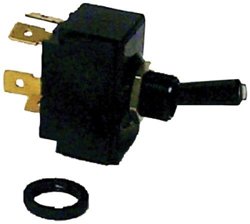 Sierra TG19530 Tip-Lit Toggle Switch - MOM On-Off-MOM On DPDT