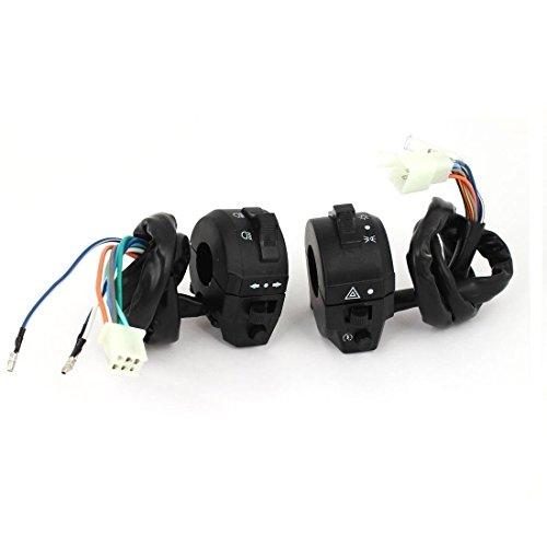 ZYHW Motorcycle ATV Handlebar Horn Turn Signal Headlight Electrical Switch