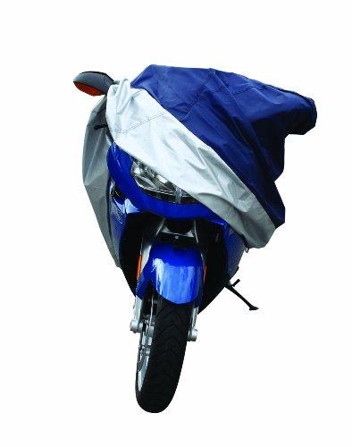 Pilot Automotive CC-6331 BlueSilver Motorcycle Cover Small