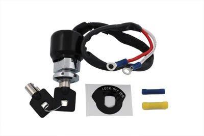 V-Twin 32-9038 - Barrel Key Ignition Switch