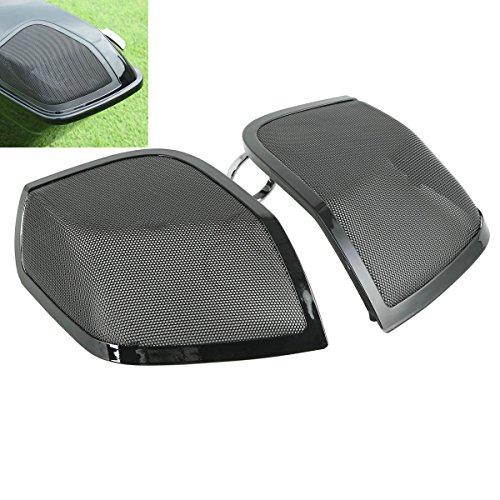 5x7 Saddlebag Lid Speaker Grill For Harley Davidson Touring 14-17 FLT FLH FLHR