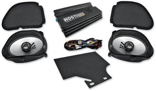 Hogtunes BIG RG Road Glide Ultra Amp and Speaker Kit for 1998-2013 Harley-Davidson Road Glide Models