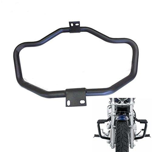 Alpha Rider Footrest Bar Motor Protection Mustache Engine Guard Black For Harley Davidson Sportster 1200 Custom XL 1200C 2011  Sportster 1200 Nightster XL 1200N 2009-2012