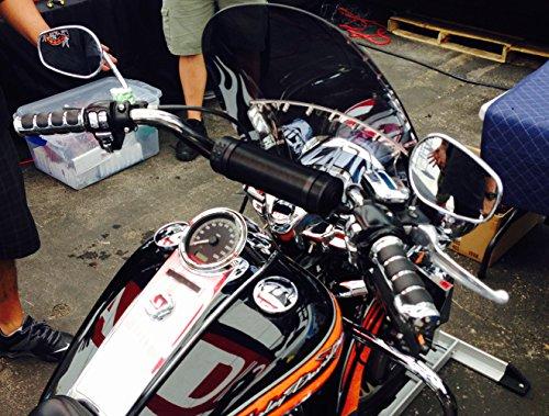 Harley Davidson Sportster 1200 Custom 2011-2016 Universal 6 Speaker All Weather Handlebar Sound System
