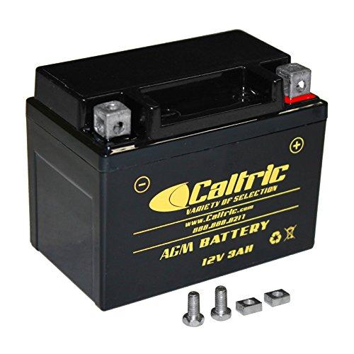CALTRIC AGM BATTERY Fits HONDA CRF 110F CRF110F CR-F110F 2013-2016
