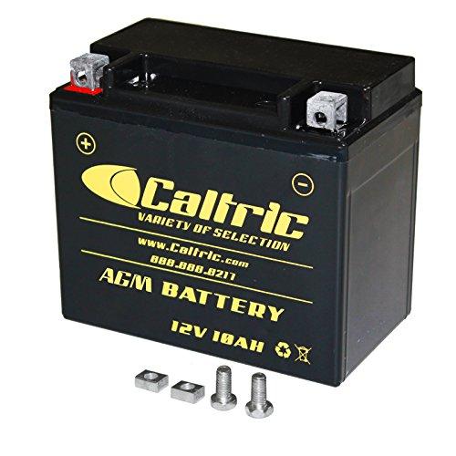 CALTRIC AGM BATTERY Fits HONDA TRX200 TRX200D TRX-200D TRX200SX Fourtrax 200 1986-88 1990-1997