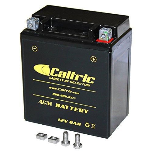 CALTRIC AGM BATTERY Fits KAWASAKI KLX140 KLX-140 KLX140L 2008-2011 2015 2016