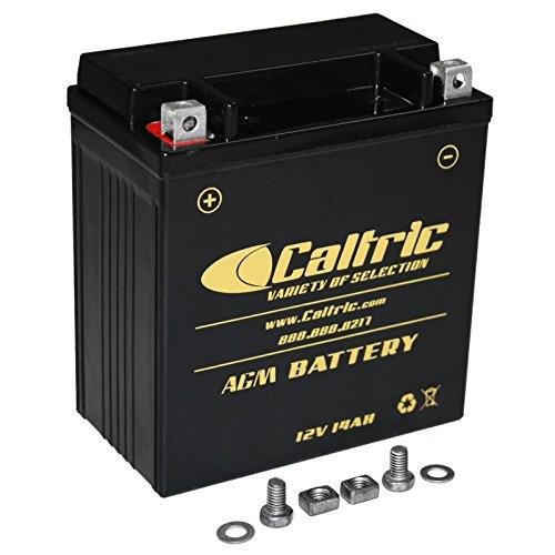 CALTRIC AGM BATTERY Fits SUZUKI VL1500 VL-1500 VL1500B Intruder 1500 1998-2004
