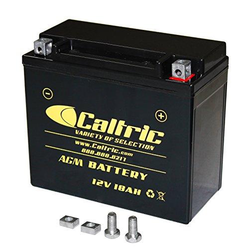 CALTRIC AGM BATTERY Fits YAMAHA KODIAK 450 YFM450F YFM-450F 4WD 2003-2006